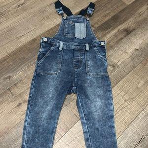 Gap Baby boy overalls, denim overalls